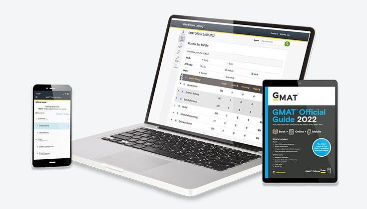 2022 年 GMAT™官方指南:电子书 & 在线问题库